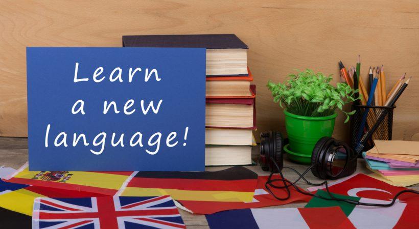 aprender um terceiro idioma