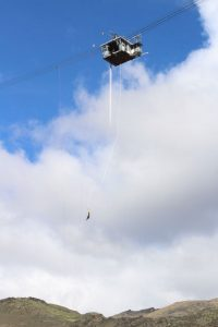 bungee jump em intercâmbio na nova zelândia