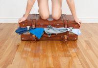 como arrumar a mala