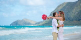 destination wedding no havaí