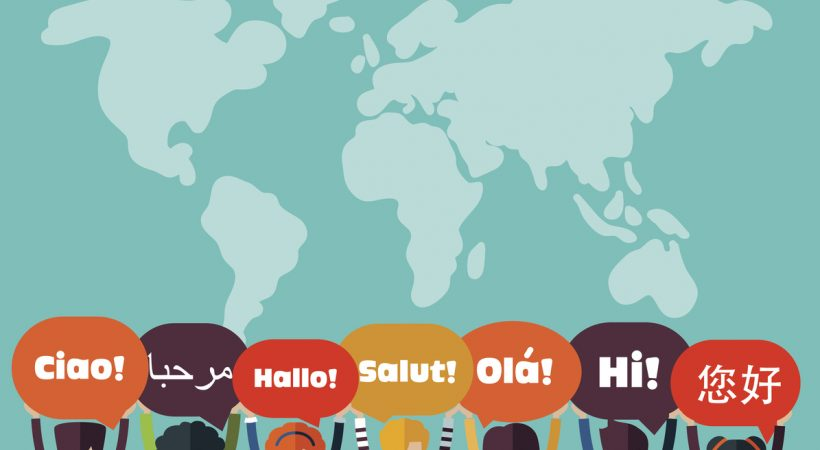 idiomas mais falados no mundo