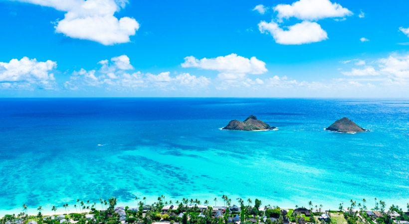 intercâmbio no Havaí Lanikai Beach
