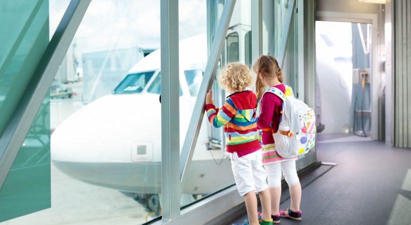 viagens com menores